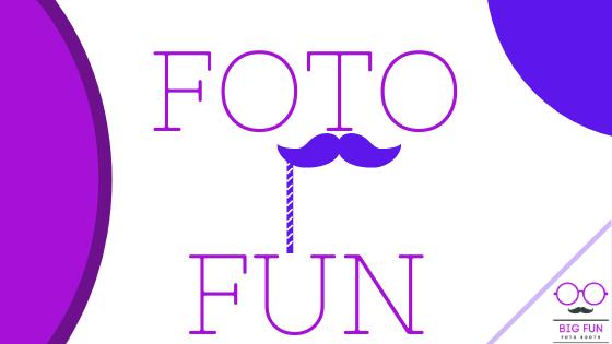 Big Fun Foto Booth wedding birthday party blog ideas